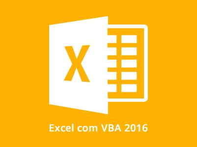 Excel com VBA 2016