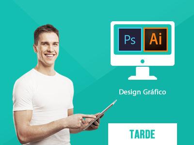 Curso de Design Gráfico - Turno Tarde na Real & Dados em Salvador na Bahia