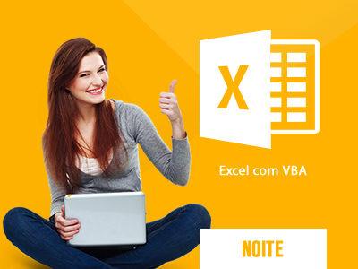 Curso de Microsoft Excel com VBA 2010 no Turno da Noite na Real  & Dados em Salvador na Bahia